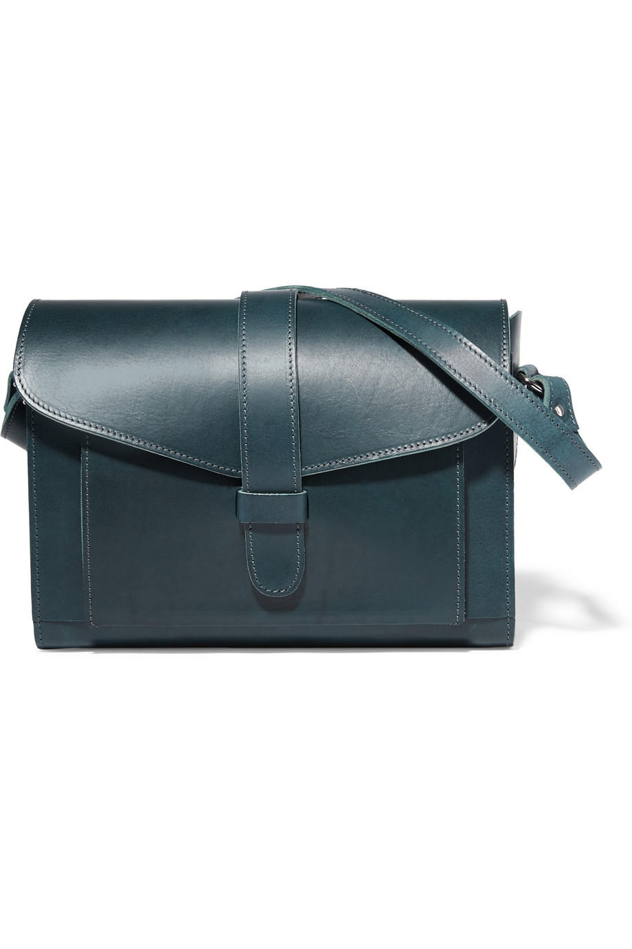 MARNI Leather shoulder bag On Sale @ THE OUTNET