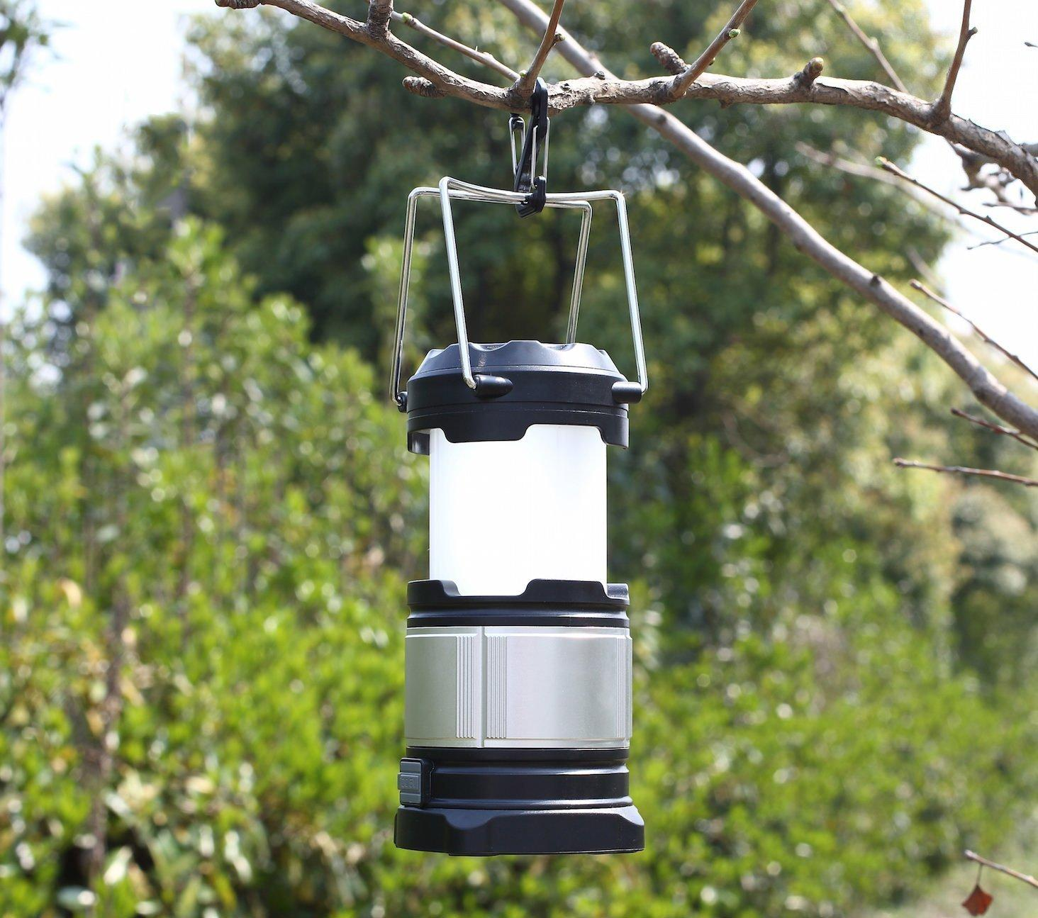 LED Camping Lantern with Power Bank
