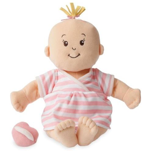 Manhattan Toy Baby Stella Peach Soft Nurturing First Doll @ Amazon