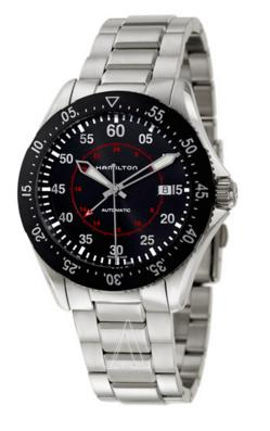 Hamilton Men's Khaki Aviation Pilot GMT Auto Watch H76755135 (Dealmoon Exclusive)
