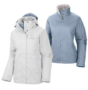 Columbia Women's Sleet To Street Insulated 3-in-1 Jacket