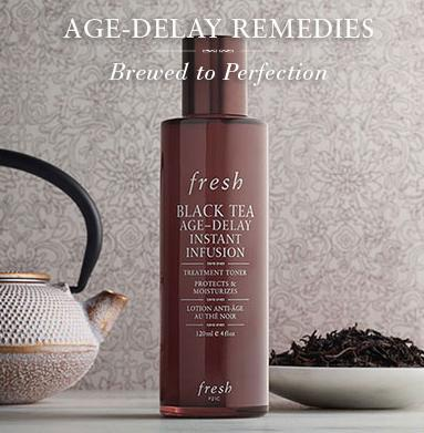 Free Black Tea Infusion Deluxe Sample With Over $100 Purchase @ Fresh