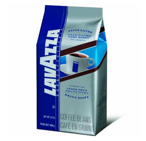 Lowest price! $12.78 Lavazza Gran Filtro Dark Roast - Whole Coffee Beans, 2.2-Pound Bag