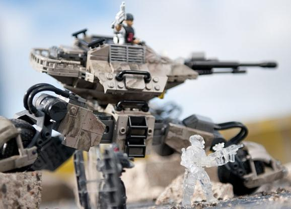 Mega Bloks Call of Duty Atlas Mobile Turret Building Set