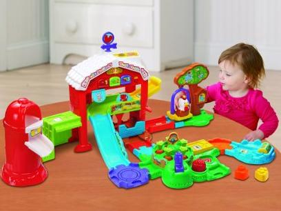 VTech Go! Go! Smart Animals Grow and Learn Farm @ Amazon