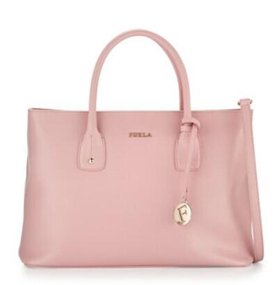 Furla  Josi Medium Leather Tote Bag, Winter Rose @ LastCall by Neiman Marcus