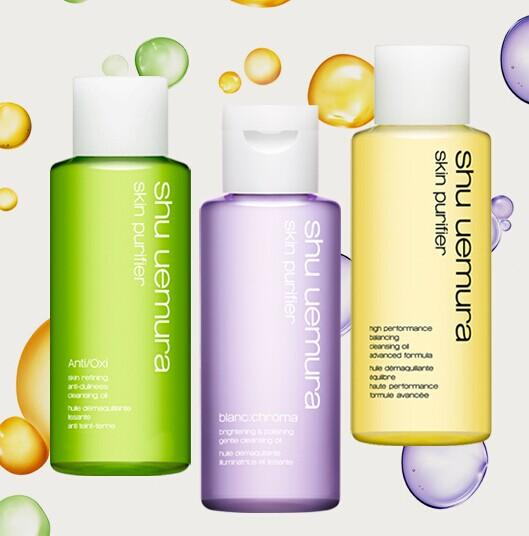 Free 3-pc travel cleansing oil set + FREE SHIPPING on $50 orders @ Shu Uemura