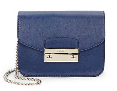 Furla Julia Mini Leather Crossbody Bag