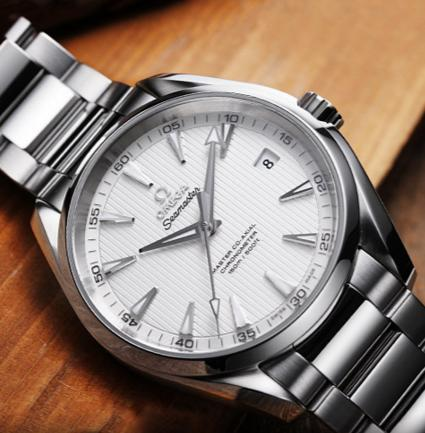 $2995 Omega Men's 231.10.39.21.02.001 Seamaster Aqua Terra Stainless Steel Watch