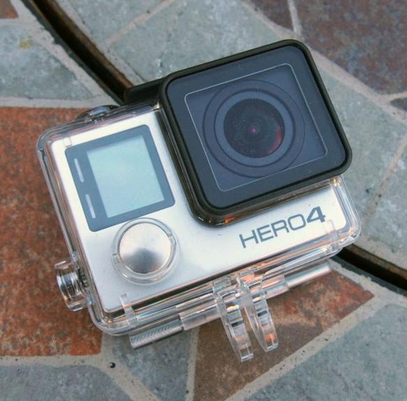 GoPro Hero4 Silver 12 MP Waterproof Camera with GoPro WiFi Remote 1.0 and Wrist Housing Bundle
