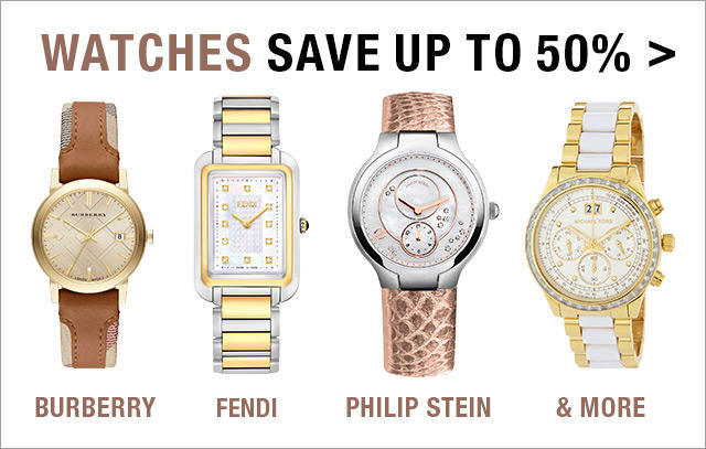 Up to 50% Off Designer Watches from Burberry, Fendi and More in Fashion Dash at LastCall by Neiman Marcus