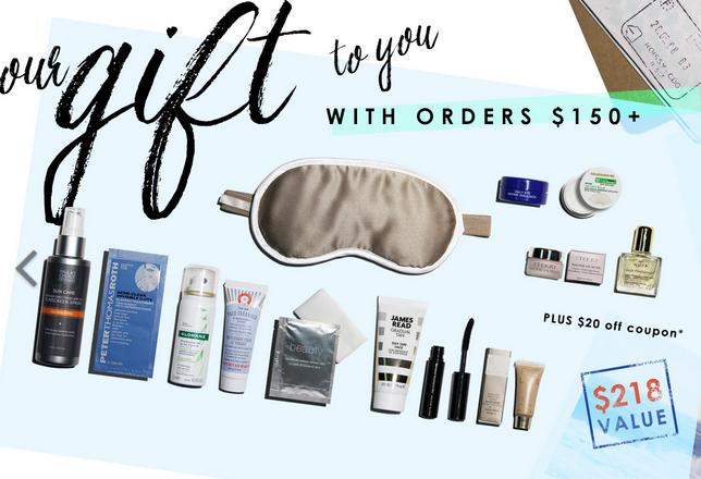 Free Bon Voyage Beauty Bundle (Valued at $218!) on orders of $150 or more @ b-glowing