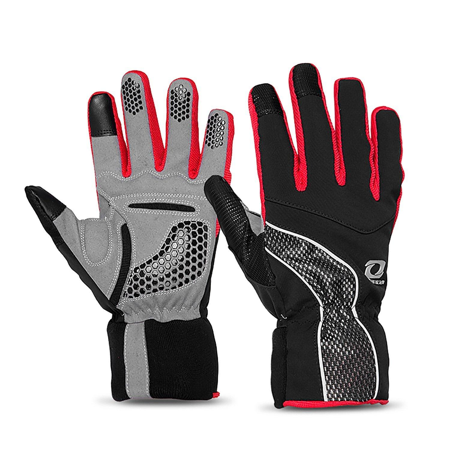4ucycling Touch-screen Windproof Thermal Multifunction Warm Gloves