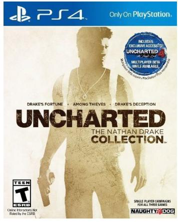 UNCHARTED: The Nathan Drake Collection - PlayStation 4 (Download Card)