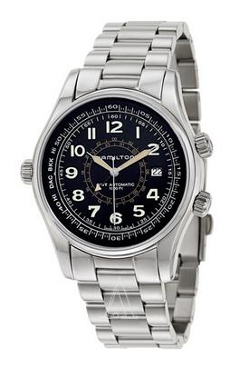HAMILTON MEN'S KHAKI NAVY UTC AUTO WATCH H77505133 (Dealmoon Exclusive)