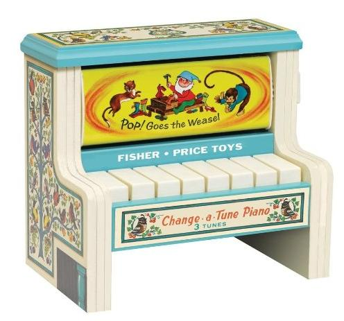 Fisher Price Classic Change a Tune Piano @ Amazon