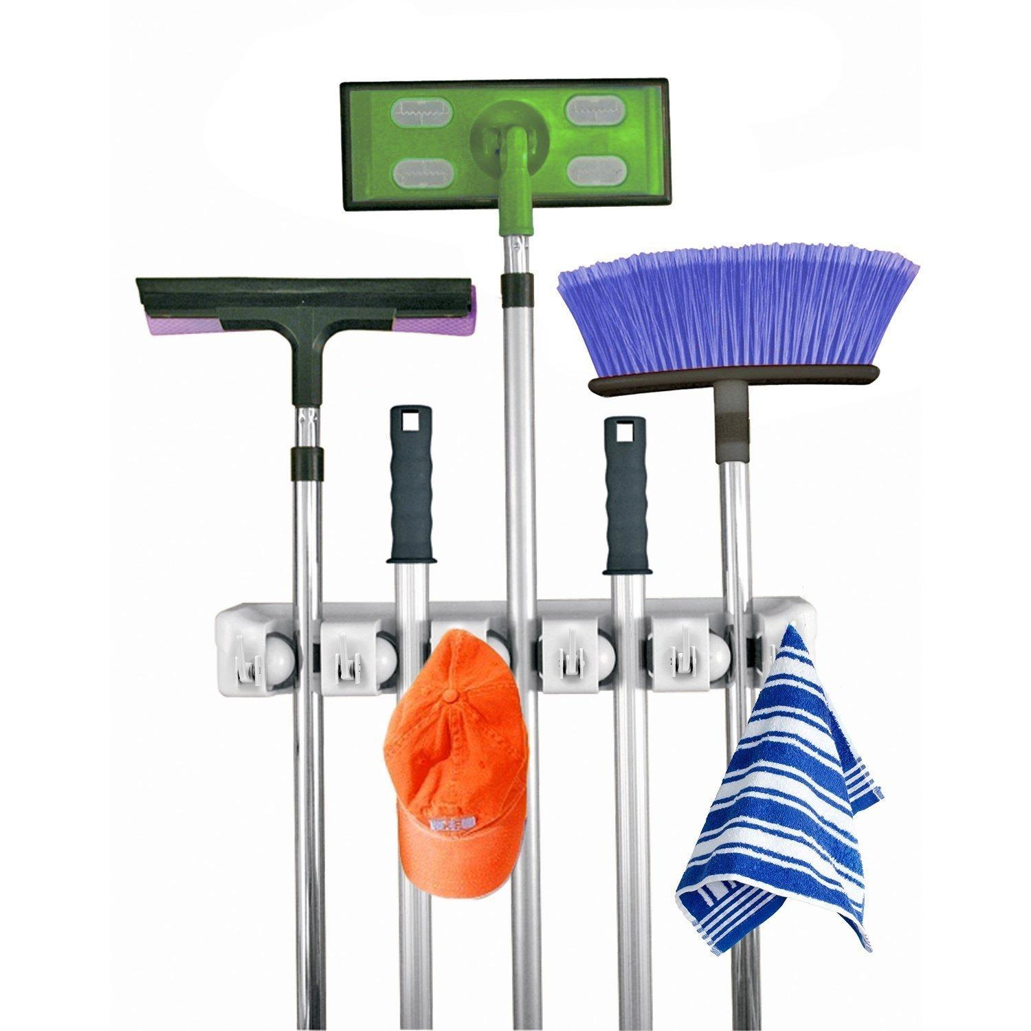 Home- It Mop and Broom Holder