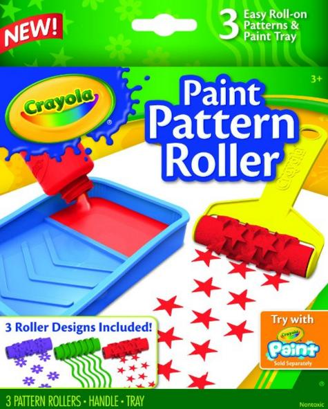 $2.94 Crayola Paint Pattern Roller @ Amazon