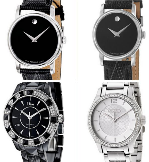 From $75! Movado, Dior, CK, Coach Watches on Sale @ Ashford, A Dealmoon Birthday Exclusive