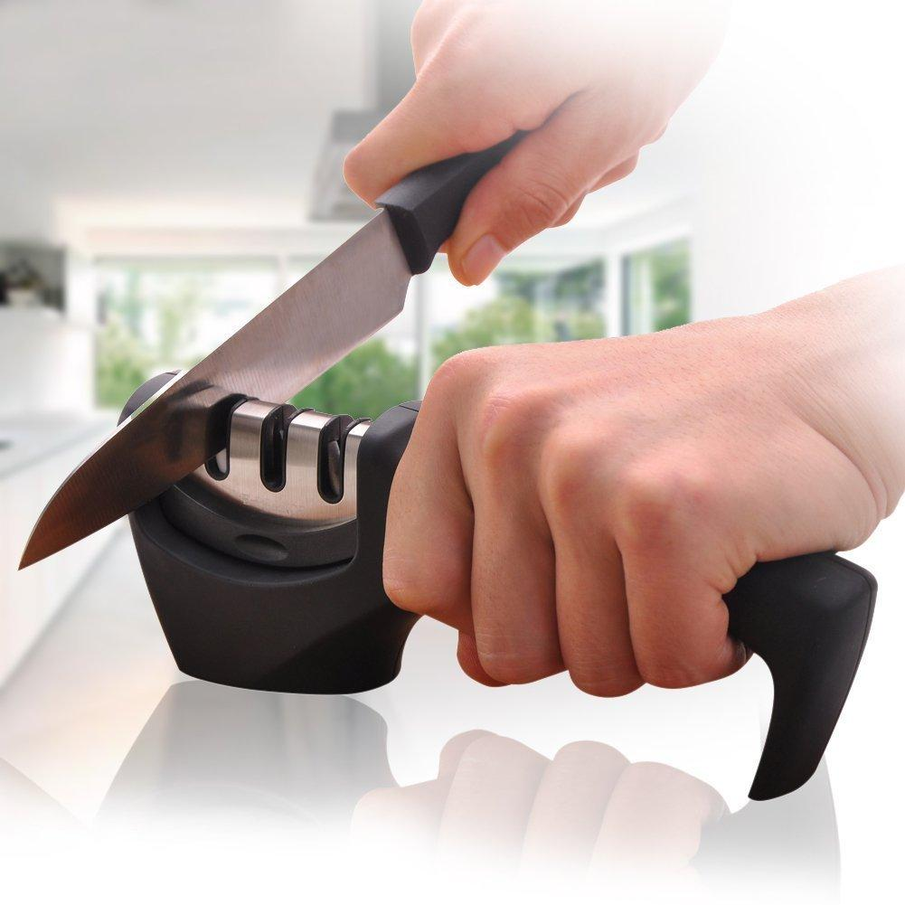 E-PRANCE Knife Sharpener with 3 Stages