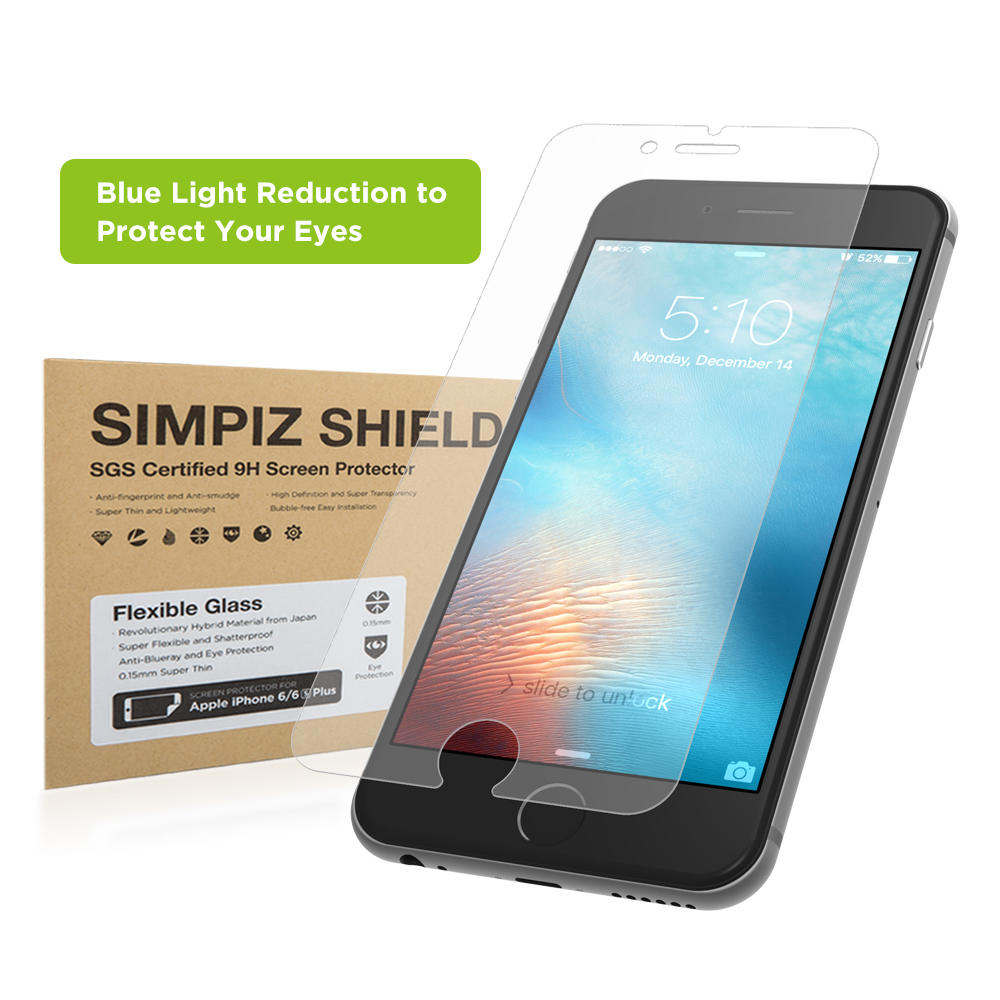Simpiz Blue Light Cut Glass Screen Cover for iPhone 6 and iPhone 6S