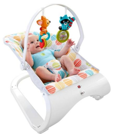 $25.47 Fisher-Price Comfort Curve Bouncer @ Amazon