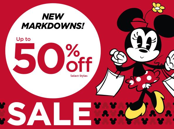 Up to 50% Off Select Items Sale @ disneystore