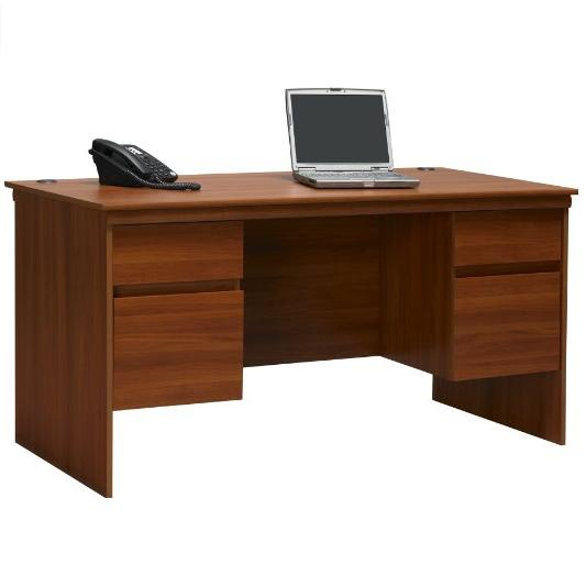 Ameriwood Expert Plum Executive Desk