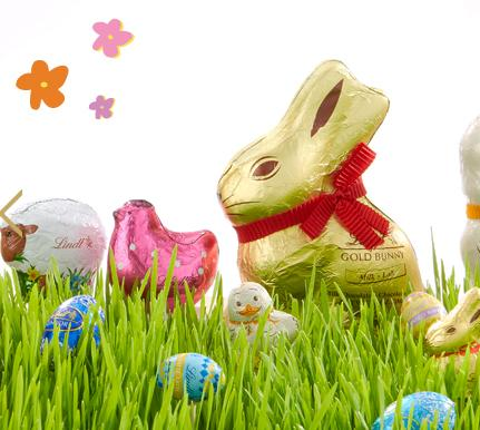Buy 2 Get 1 Free Gold Bunny, Little Chick Figures and 5 Packs of Mini Spring Figures @ Lindt