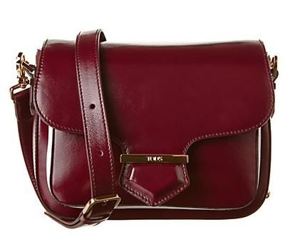 TOD's Military Mini Leather Satchel On Sale @ Rue La La