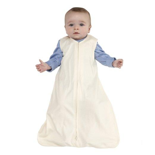 HALO SleepSack 100% Cotton Wearable Blanket, Sage, Small @ Amazon