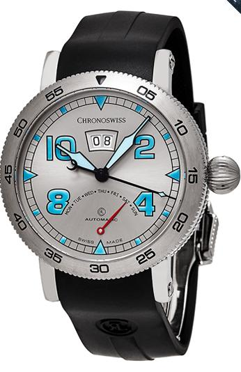 Chronoswiss Time Master Retrograde Day Swiss Automatic Watch Men's Watch