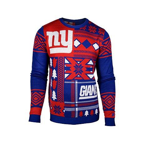 NFL Patches Crew Neck Ugly Sweater @ HSN