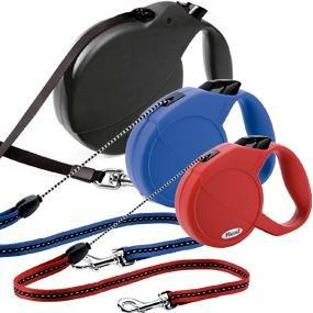 Flexi Explore Retractable Belt Dog Leash, Large, 26-Feet Long, Supports up to 110-Pound