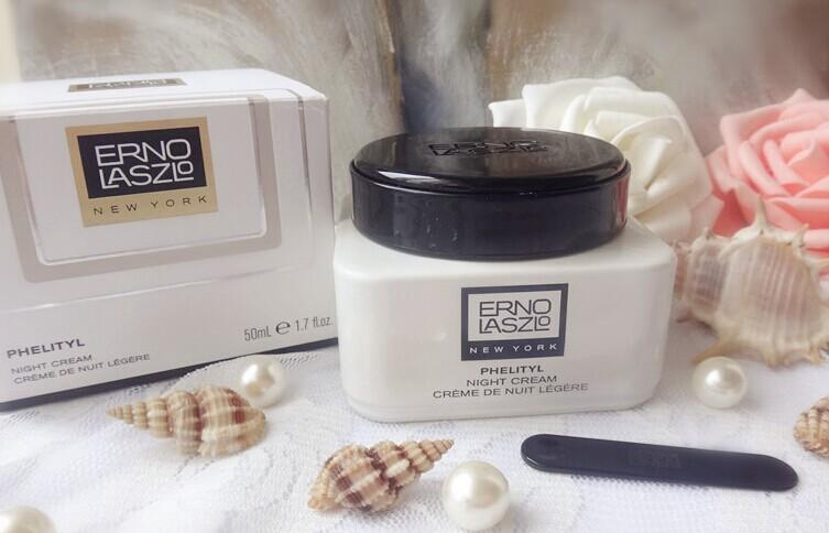 ERNO LASZLO Phelityl Night Cream @ B-Glowing