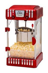 MaxiMatic EPM-250 Elite Classic Tabletop Retro-Style 2-1/2-Ounce Kettle Popcorn Machine
