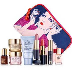 Free 7-pc Gift  (A $120 value) + Free Shipping with $35 Estee Lauder purchase @ macys.com