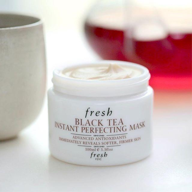 $92 + Free Shipping Fresh Black Tea Instant Perfecting Mask