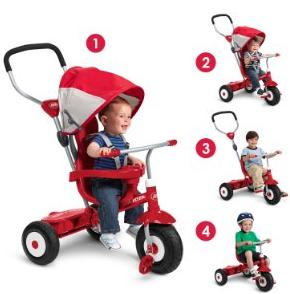 Radio Flyer All-Terrain Stroll 'N Trike Ride On @ Amazon