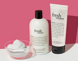 Free Fresh Cream Duo with any $40 purchase @ philosophy