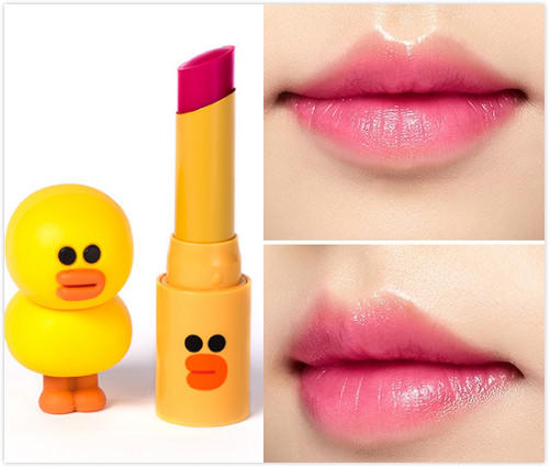 $20.99 Line Friends Edition Glossy Lip Rouge #GPK03 Wanna Pink