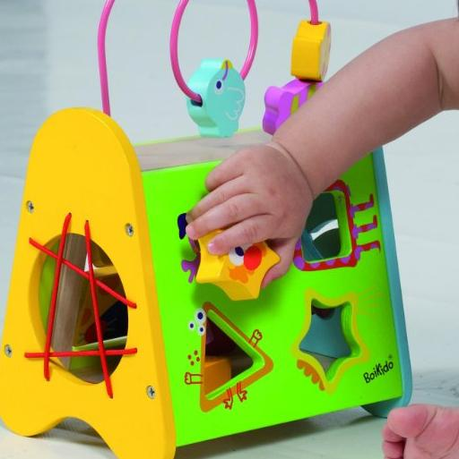 Boikido Wooden Multi-Activity Center @ Amazon