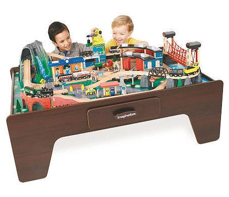 Imaginarium 100 Piece Mountain Rock Train Table