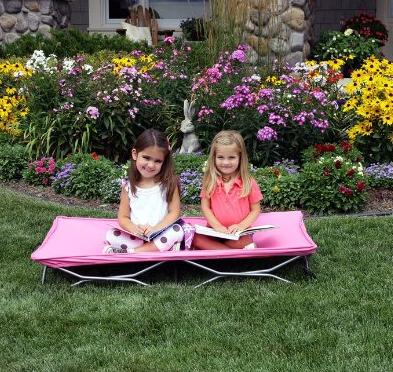 $20 Regalo My Cot Portable Toddler Bed, Pink