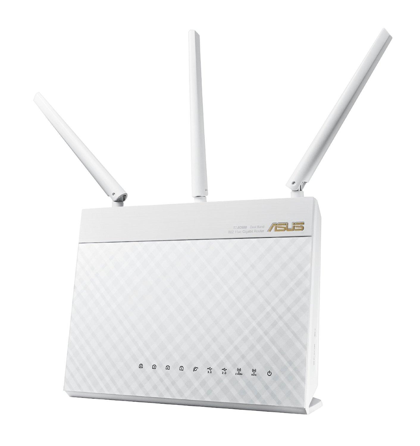ASUS RT-AC68W AC1900 Wireless Dual Band Smart Wi-Fi Router