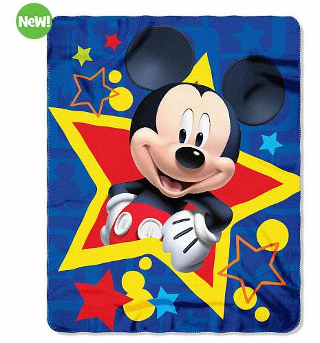 Select Disney Fleece Throws @ ToysRUs