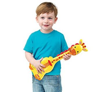$6.57 Fisher Price Giraffe Guitar Music Set @ Amazon