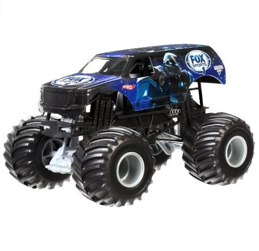 Hot Wheels Monster Jam 1:24 Scale Cleatus Vehicle