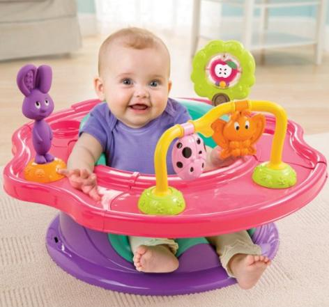 Summer Infant 3-Stage SuperSeat, Forest Friends @ Amazon