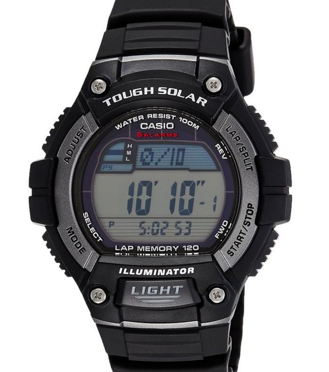$17.48 Casio Men's Solar Runner Tough Solar Multi-Function Runner Watch